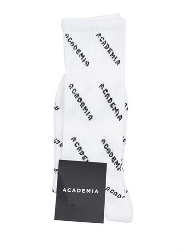 Academia Çorap Beyaz